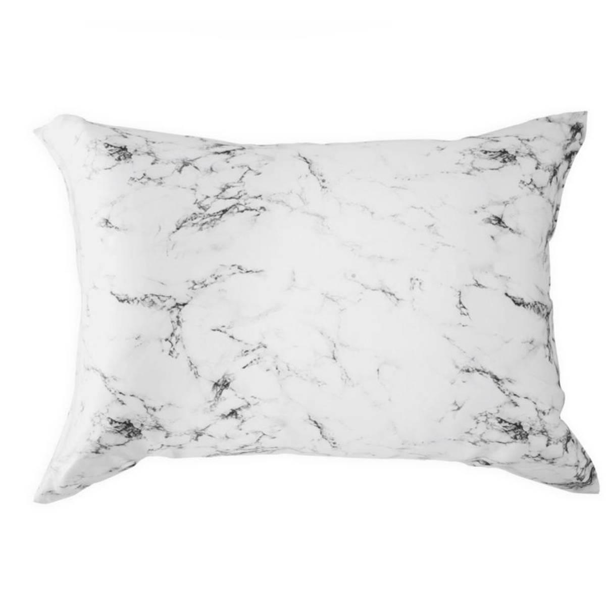 Silkeputetrekk - marmor - glidelås