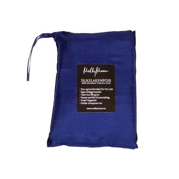 Bilde av Silkelakenpose - mørkeblå