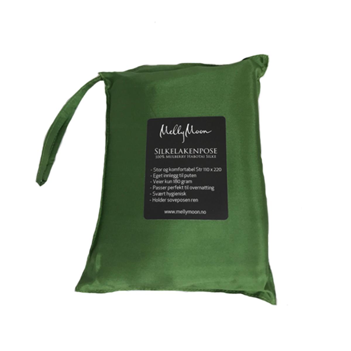 Silkelakenpose - grønn